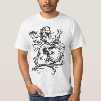 T-shirt Lion décoratif