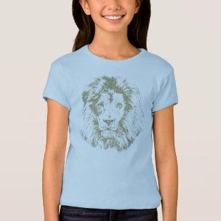 T-shirt Lion des textes