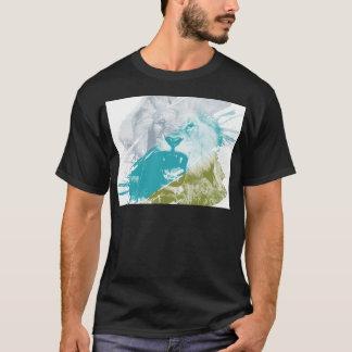 T-shirt Lion féroce