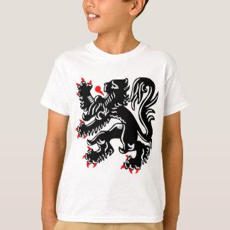 T-shirt Lion flamand