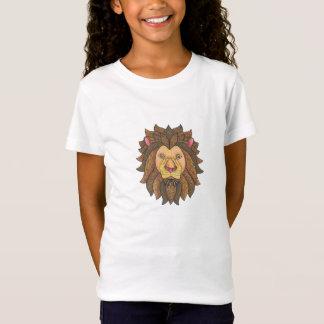 T-Shirt Lion gribouillé Grrr ! !