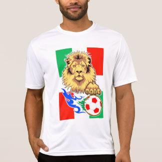T-shirt Lion italien, mexicain ou hongrois du football