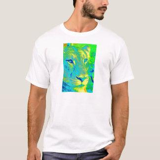 T-shirt Lionne en néon