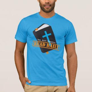 T-shirt Lisez le chrétien quotidien de bible