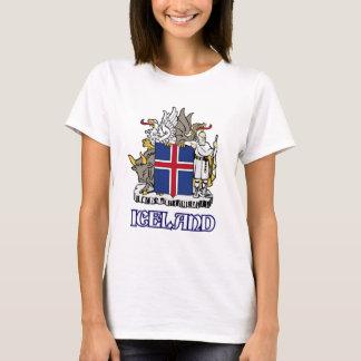 T-shirt L'ISLANDE - joint/emblème/blason/manteau des