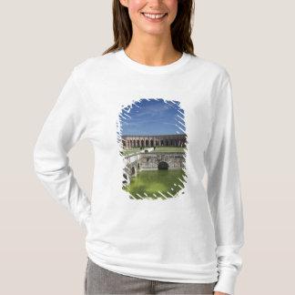 T-shirt L'Italie, province de Mantua, Mantua. Cour,