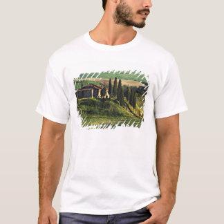 T-shirt L'Italie. Une villa pastorale de la Toscane en Val