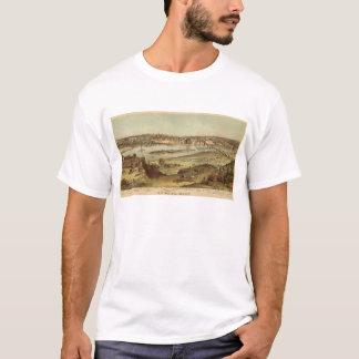 T-shirt Lithographie 2 de St Paul, Minnesota