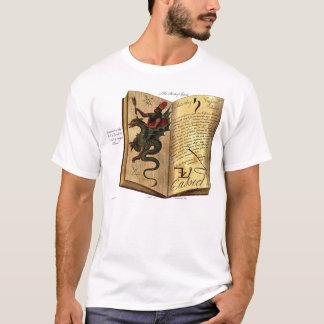 T-shirt Livre de chemise de spiritueux