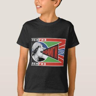 "T-shirt Livres 1925 de Rodchenko ""! """