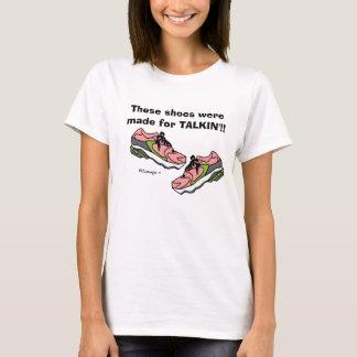 T-shirt L'obstruction parlementaire rose chausse le