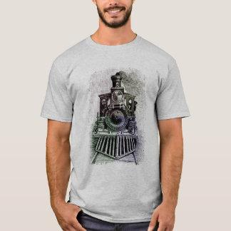 T-shirt locomotif de train pour le papa