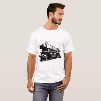 T-shirt Locomotive à vapeur - contrastée