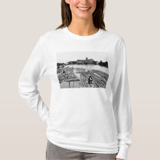 T-shirt L'Oder chez Breslau Pologne, c.1910