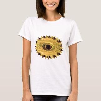 T-shirt L'oeil du DRAGON - art chinois d'or