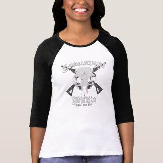 T-shirt Logo 3/4 de milice de Swamprat
