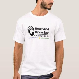 T-shirt Logo barbu