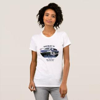 T-shirt Logo bleu de effacement