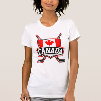 T-shirt Logo canadien d'hockey