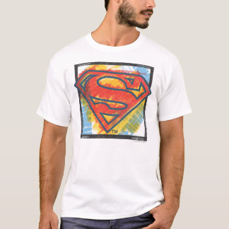 T-shirt Logo coloré par   de S-Bouclier de Superman