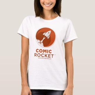 T-shirt Logo comique de Rocket - la pièce en t adaptée de