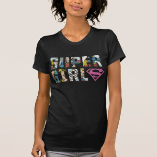T-shirt Logo comique de Supergirl