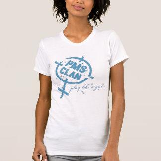 T-shirt Logo de bleu de chemise de PMS