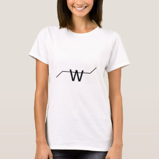 T-shirt logo de fabrication de Wilson