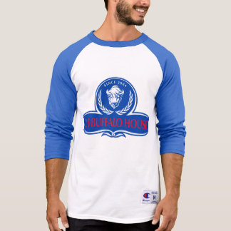 T-shirt logo de fonctionnaire de buffle