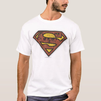 T-shirt Logo de journal du S-Bouclier   de Superman