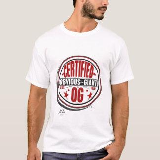 T-shirt logo de la copie de géants