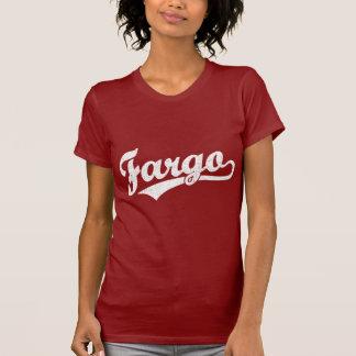 T-shirt Logo de manuscrit de Fargo dans le blanc