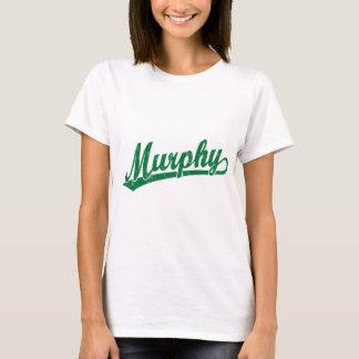 T-shirt Logo de manuscrit de Murphy en vert