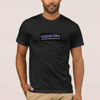 T-shirt logo de microphone de capitaine