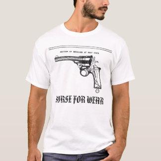 T-shirt logo de revolver