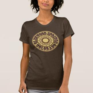 T-shirt Logo de sépia de Glenwood Springs