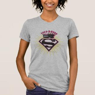 T-shirt Logo de Supergirl avec la couronne
