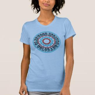 T-shirt Logo de turquoise de ressort de Glenwood