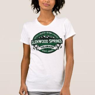 "T-shirt Logo de vert de Glenwood Springs le ""Colorado"""
