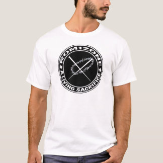 T-shirt logo d'épine et de clous