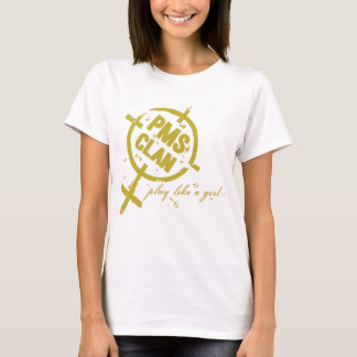 T-shirt Logo d'or de chemise de PMS