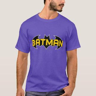 T-shirt Logo jaune du symbole | de Batman et noir nommé