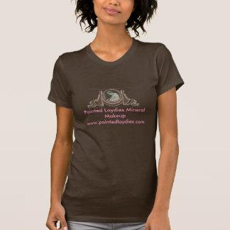 T-shirt Logo minéral peint de maquillage de Laydies.