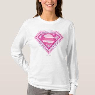 T-shirt Logo rose de Supergirl