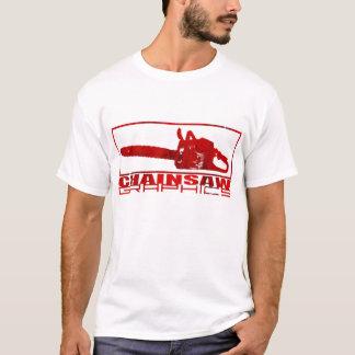 T-shirt Logo simple de graphiques de tronçonneuse
