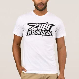 T-shirt Logo superbe de vitesse en nylon de zoulou