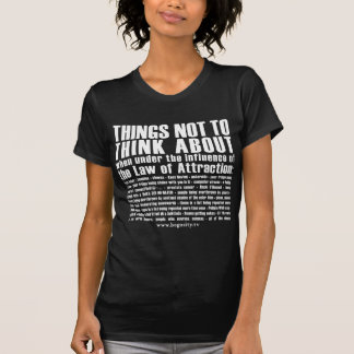 "T-shirt ""Loi chemise d'attraction"""