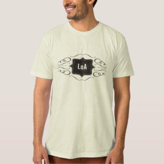 T-shirt Loi de logo d'attraction