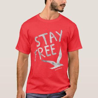 T-shirt L'oiseau argenté