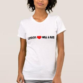 T-shirt Londres (coeur) et Kate
